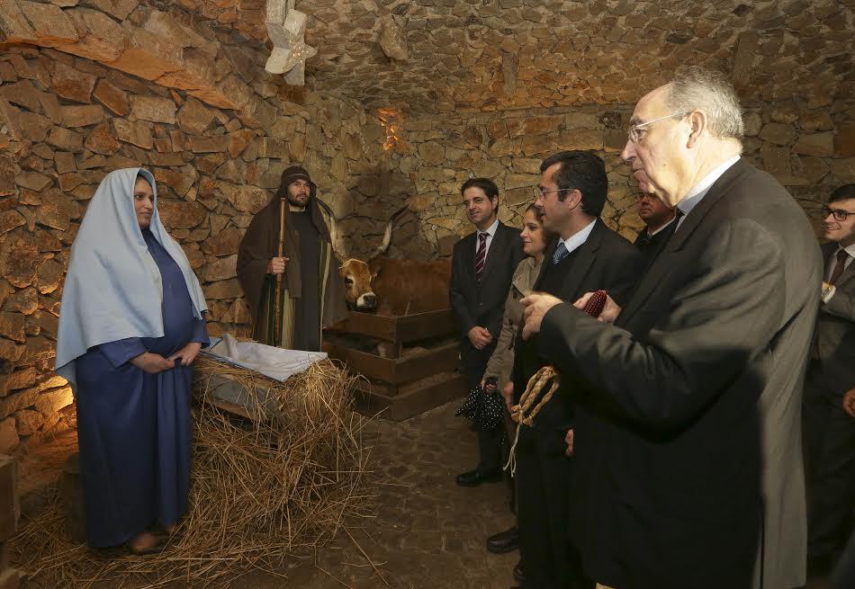 Ricardo Rio e D. Jorge Ortiga inauguram Presépio de Priscos, o maior presépio ao vivo da Europa