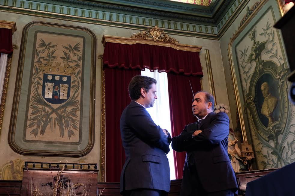 Embaixador da Índia visita Braga com cultura e negócios na agenda