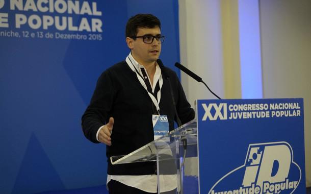 Francisco Mota eleito vice-presidente da comissão política nacional da Juventude Popular