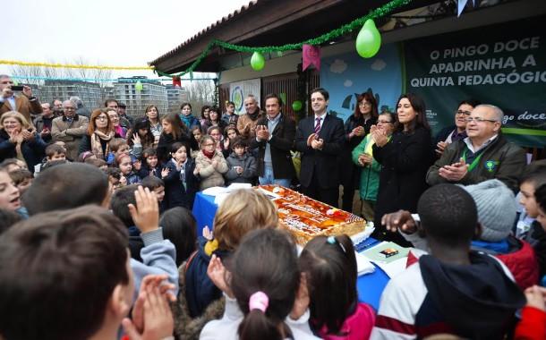Em dia de aniversário, Quinta Pedagógica de Braga recebe visitante n-º 267.501 e promessa de ampliação de instalações