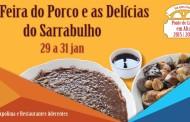 VIII Feira do porco e do sarrabulho abre porta sábado em Ponte de Lima