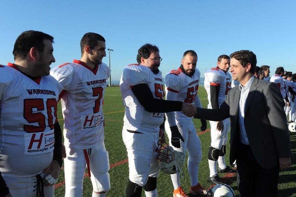 Campo da Caseta, em Braga, é o terceiro do país com marcações oficiais de futebol americano
