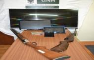 GNR detém em Braga três homens e apreende haxixe e armas brancas