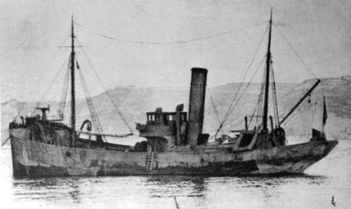 Localizado destroço do caça-minas Roberto Ivens afundado na I Guerra Mundial na barra do Tejo