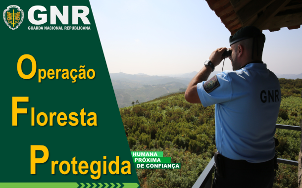 GNR no terreno até 14 de Maio com operação 'Floresta Protegida'