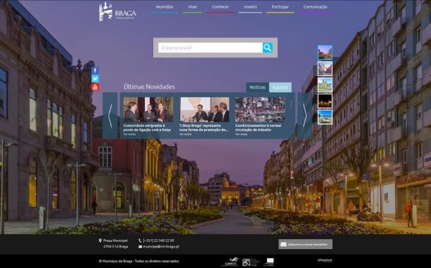 Câmara de Braga apresenta nova imagem institucional e novo portal
