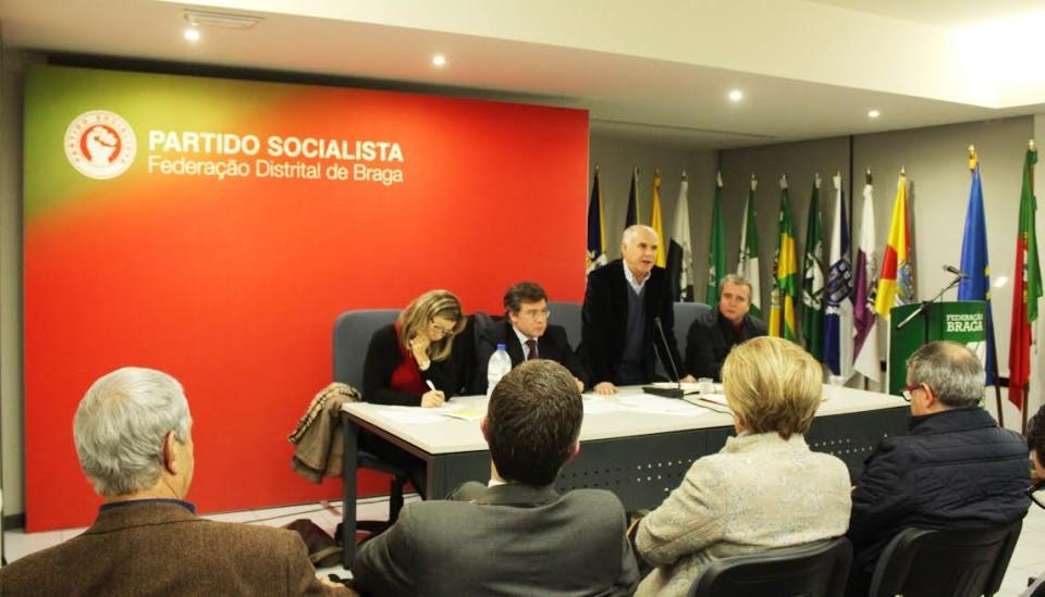'Distrital' socialista vai a eleições a 5 de Março; Barcelos recebe congresso