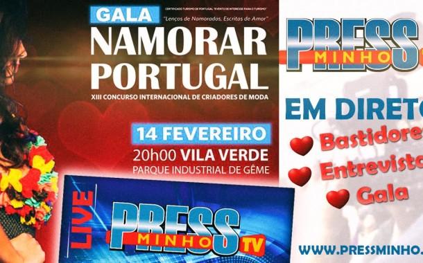 "Bárbara Guimarães apresenta Gala ""Namorar Portugal no dia"