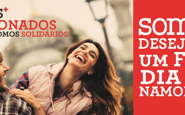 Marca 'somos+' da Cruz Vermelha mostra sugestões doces para o Dia dos Namorados no Braga Parque
