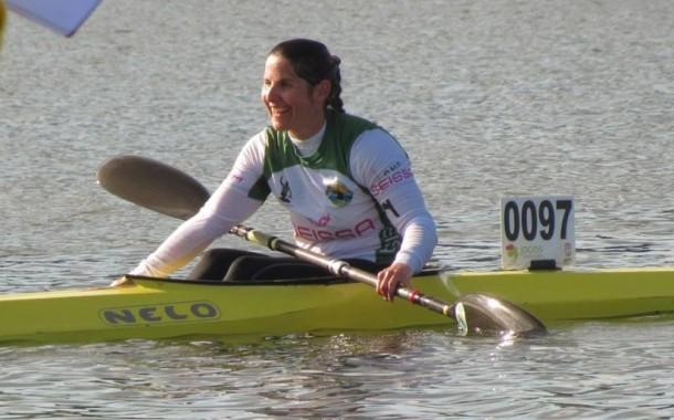 Canoísta Ana Esteves dá medalha de ouro ao CN Prado