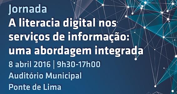 """Ponte de Lima debate """"Literacia Digital"""" no dia 8 de Abril"""
