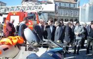 Mergulhadores e mais 15 bombeiros reforçam Bombeiros Sapadores de Braga