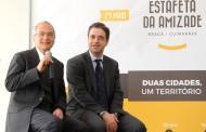 Braga e Guimarães deixam de lado rivalidades (desportivas e não só) e correm juntas 'Estafeta da Amizade'