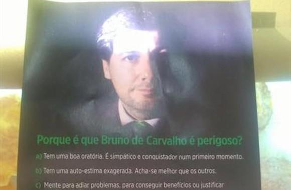 """Campanha anti-Bruno de Carvalho: """"Sporting está em risco. Acordem!"""""""