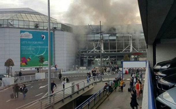 Duas explosões no aeroporto de Bruxelas provocam vários mortos e feridos; desconhece-se existência de portugueses entre as vítimas