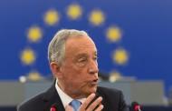 """""""A Europa com que sonho quer manter-se unida e solidária"""", diz Marcelo no PE, aplaudido de pé pelos eurodeputados"""