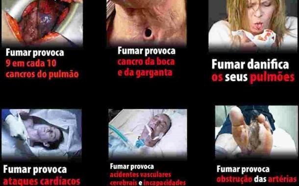 Imagens-choque em maços de tabaco chegam no final de Maio; DGS cria linha de apoio para quem quiser acabar com vício