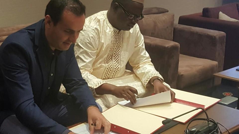 AEVIVER formalizou acordo de cooperação com a Câmara de Comércio da Guiné-Bissau