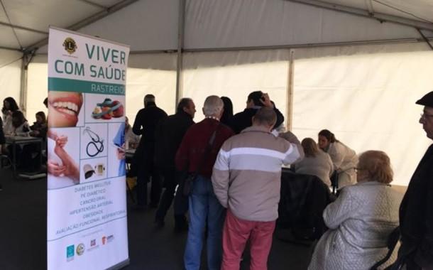 'Viver com saúde' do Lions Clube de Braga fez 1200 testes clínicos