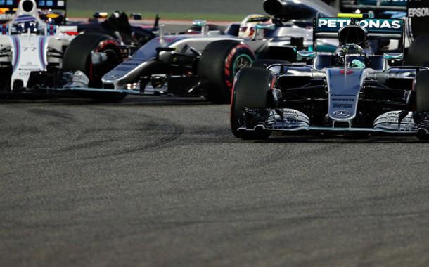 F1: Rosberg vence no Bahrein e chega à quinta vitória seguida