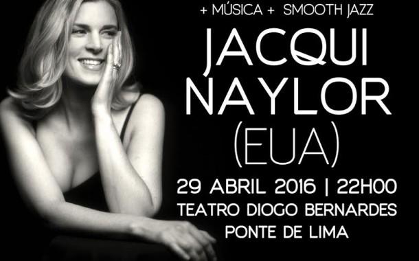 Norte-americana Jacqui Naylor, a senhora da fusão do jazz, rock e folk, apresenta-se em Ponte de Lima ( dia 29)