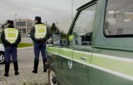 GNR: 167 detidos em flagrante delito no fim-de-semana