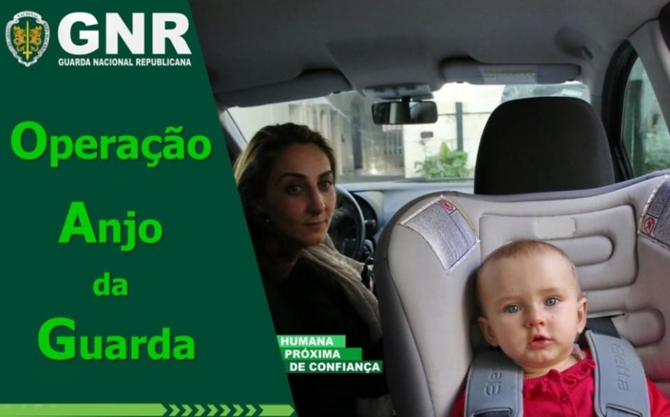 Operação 'Anjo da Guarda' da GNR na estrada até domingo