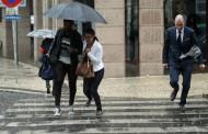 Fim-de-semana com muita chuva, vento e descida da temperatura
