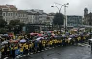 António Costa recebido em Braga com protestos do Externato Infante D. Henrique