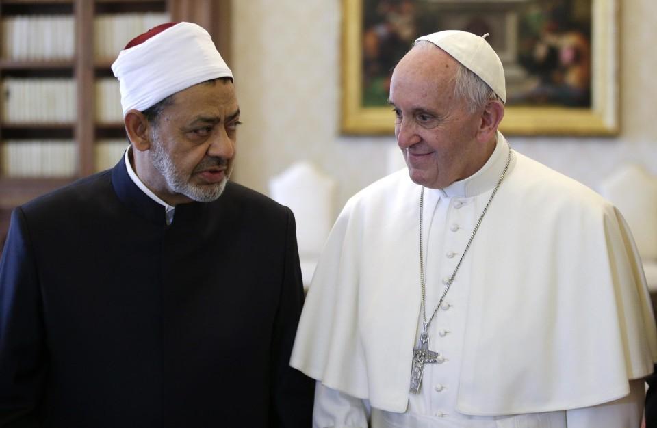 """""""O homem sem religião é um perigo para o seu próximo"""", diz líder muçulmano após encontro com o Papa"""