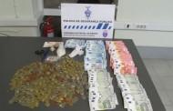Mulher detida em Braga com 800 doses de cocaína e heroína; agente da PSP ferido na operação