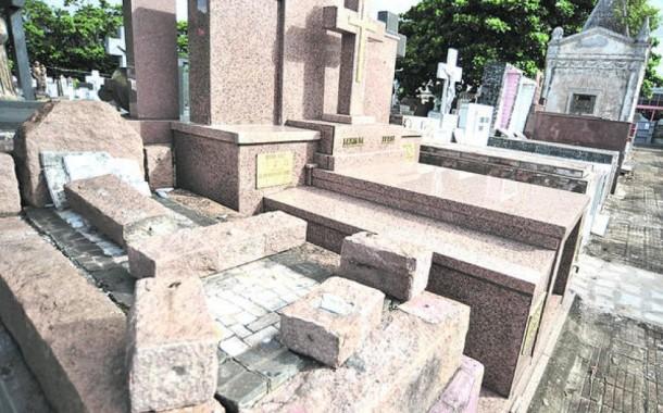 Roubo de metal em seis sepulturas do Cemitério de Pedregais (Ribeira do Neiva)
