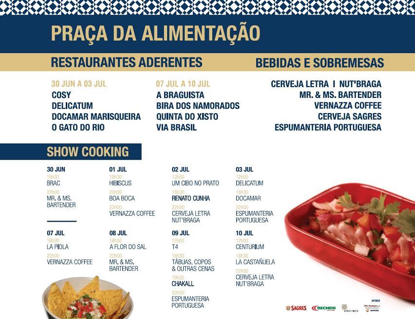 Braga promove a partir desta quinta-feira sabores da gastronomia Ibero-Americana; Chef Chakall presente