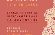 Companhia da Música promove IV Encontro de Violinos integrado na Capital Ibero-Americana da Juventude (11 a 16 Julho)