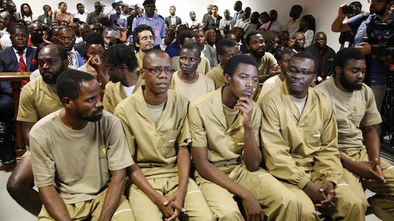 Activistas angolanos já se encontram em liberdade mas proibidos de sair do país