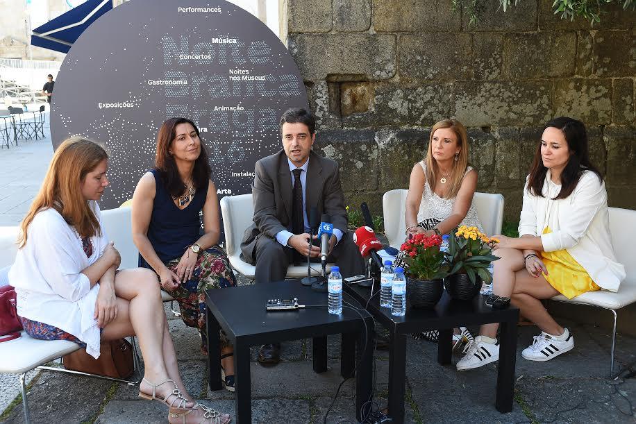Noite Branca de Braga com Carminho, Linda Martini, Sérgio Godinho e Jorge Palma; esperados 300 mil visitantes ente 2 e 4 de Setembro