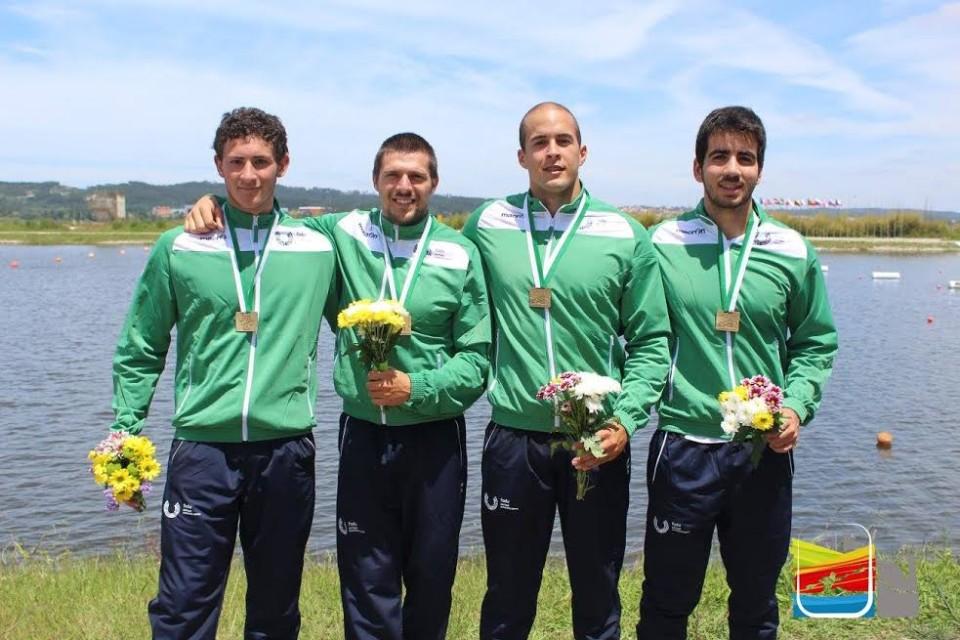 Estudantes da UMInho arrancam três 'bronzes' nos mundiais universitários de canoagem