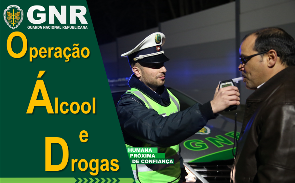 GNR tem na estrada Operação TISPOL- Álcool e Drogas