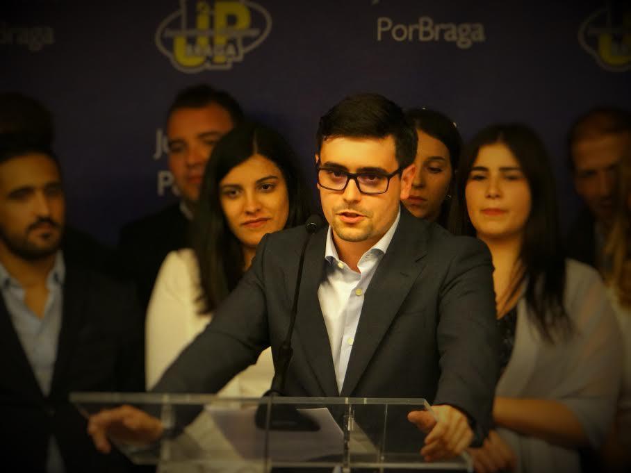 Francisco Mota toma posse como líder da JP/Braga com 'Autárquicas' de 2017 na mira