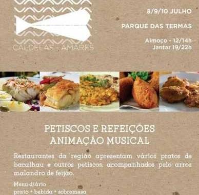 Caldelas recebe esta sexta-feira Festival Bacalhau; menu diário a 5 euros