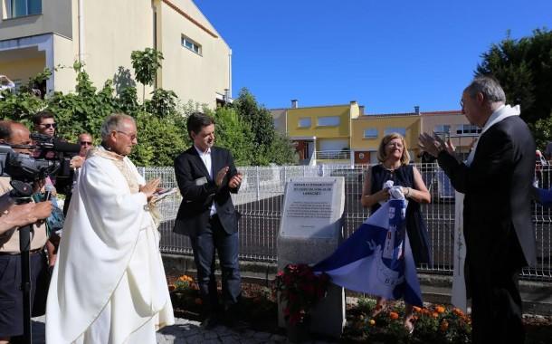 Ricardo Rio inaugurou arranjo urbanístico do adro da Igreja de Lamaçães