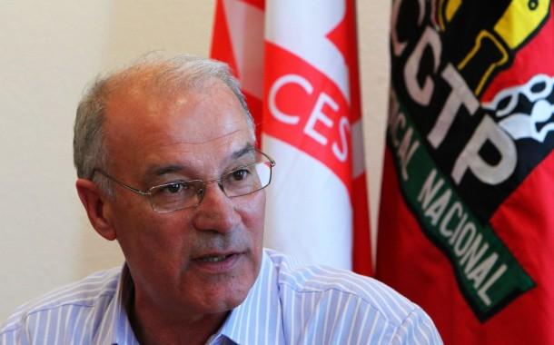 Secretário da CGTP em ação em Famalicão