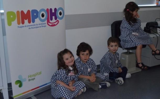 Amares adere ao 'Pimplolho', projecto de prevenção da ambliopia; 120 crianças beneficiam da parceria com Hospital de Braga
