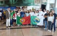 Hélder Silva recebido em festa no aeroporto
