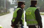 GNR regista em 24 horas uma centena de acidentes de provocaram quatro feridos graves