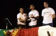 Clube Náutico de Prado homenageou a Hélder Silva antes da partida para o Olímpicos do Rio de Janeiro