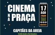 Bullire promove 'Cinema na Praça' esta quarta-feira à noite