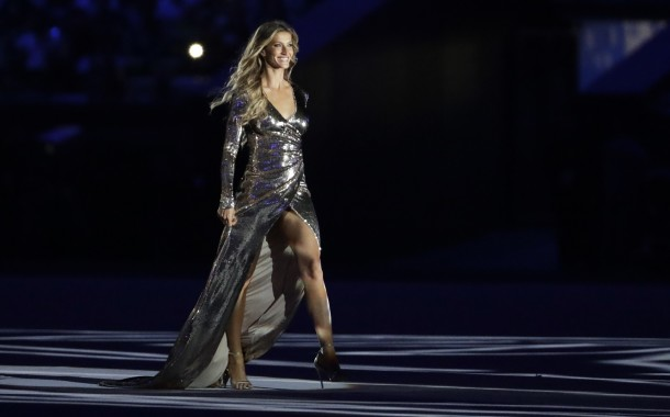 "RIO 2016: ""Nunca estive tão nervosa"", confessa Gisele Bündchen"