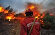 Chamas não dão tréguas. Mais de 400 bombeiros e três meios aéreos combatem 20 fogos florestais no distrito de Braga