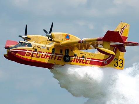 Fogos: Dois aviões Canadair espanhóis esperados em Viana do Castelo